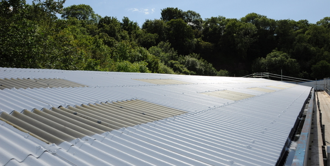 Asbestos Roof Cleaning Systems
